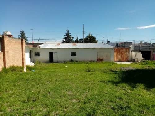 Renta Terreno Con Construcción En Huamantla