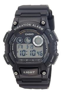 Reloj Hombre Casio W-735h-1av Negro Digital / Lhua Store