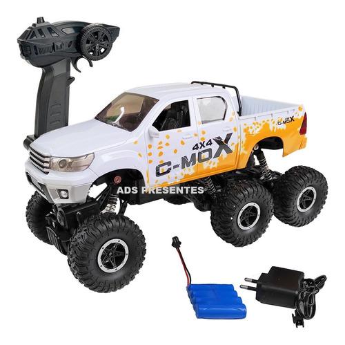Carrinho De Controle 6x6 Crawler 1:12 Desert Safari 2.4 Ghz