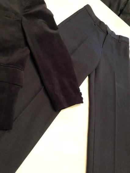 Pantalon Fino Niño Talle 10/12 Años Clasico