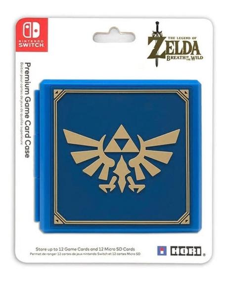 Porta Jogos Switch Zelda Breath Of The Wild