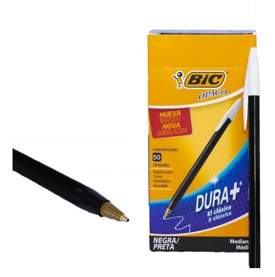 Birome Bic Opaca En Caja X50 Unid Color A Eleccion