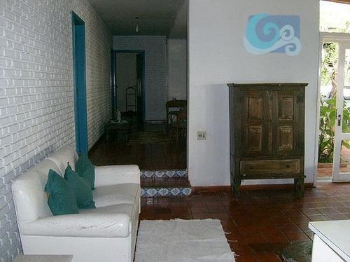 Imagem 1 de 9 de Casa Residencial À Venda, Praia Do Pernambuco, Guarujá - Ca0092