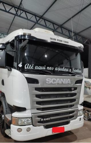 Imagem 1 de 3 de Scania R440 6x4 2014 Automatico