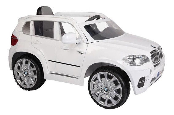 Auto Eléctrico Bmw X5 Blanco 6v