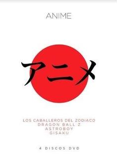 Pelicula Pack Anime 4 Dvd Dragon Ball Zodiaco Original