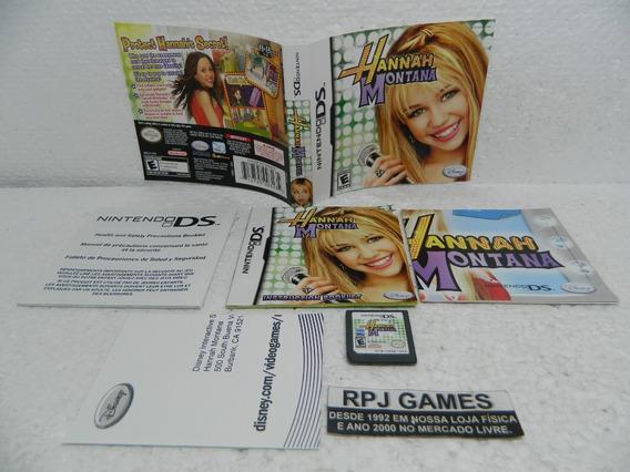 Hannah Montana Original P/ Nintendo Ds C/ Encartes E Manual