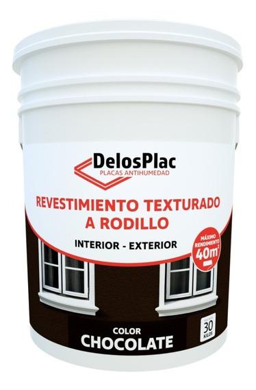 Revestimie Texturado Rodillo Chocolate 30kg (simil Tarquini)