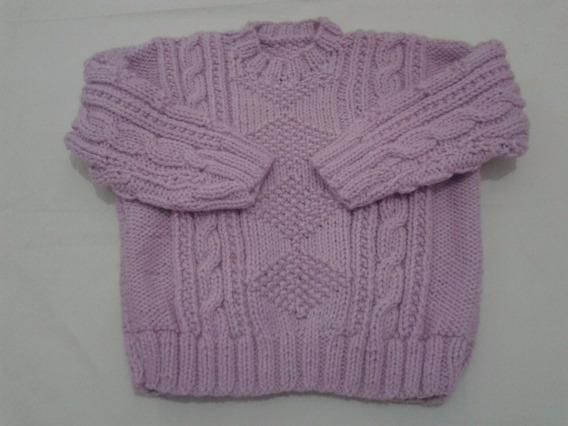 Sweter Hecho A Mano (lana)