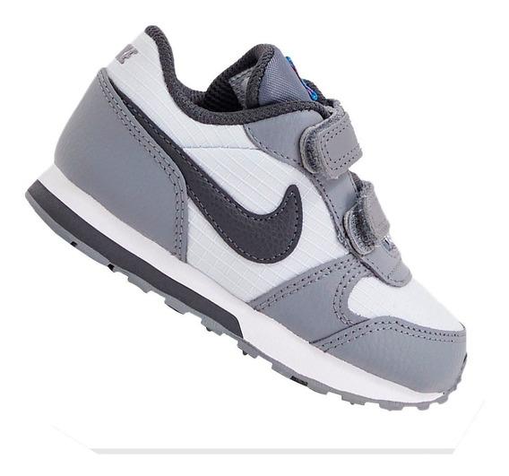 Tênis Nike Infantil Md Runner Cinza 806255015 Original