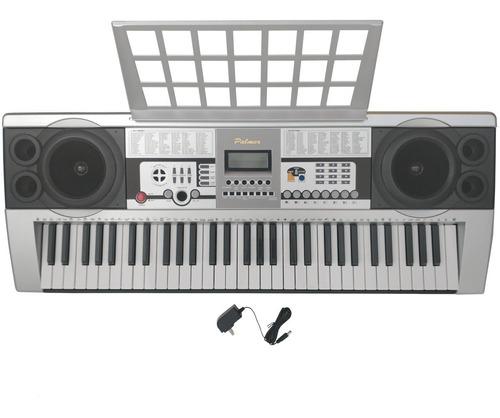 Imagen 1 de 6 de Organeta Teclado Palmer 5 Octavas 100 Voces 100 Ritmos +adap