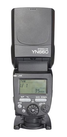 Flash Yongnuo Yn-660 Com Radio Embutido - Universal Novo