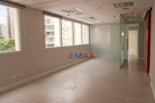 Conjunto Para Alugar, 169 M² Por R$ 11.000,00/mês - Bela Vista - São Paulo/sp - Cj2719