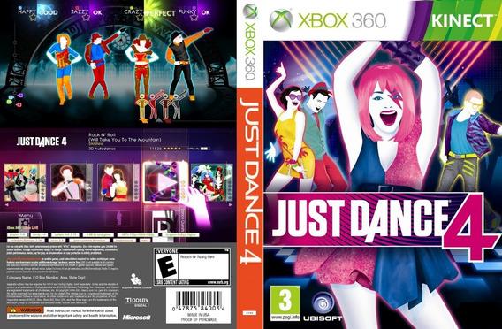 Just Dance 4 - Xbox 360 - Midia Digital