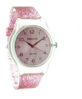 Relojes Tressa Fun Dama Sumergible Estilo Swatch