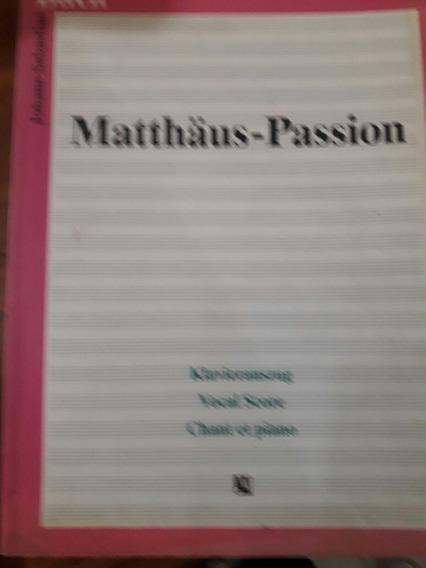 Bach.la Pasion Segun San Matteo.score Completo.edit.konemann