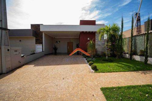 Imagem 1 de 16 de Casa À Venda, 170 M² Por R$ 860.000,00 - Condomínio Vila Romana - Ribeirão Preto/sp - Ca1569