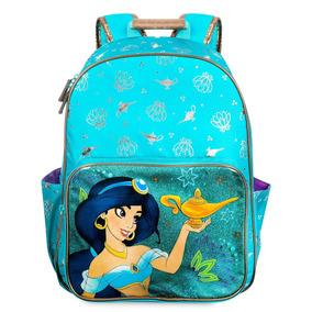 Mochila Princesa Jasmine Aladdin Original Disney Store