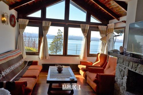 Casa Con Increible Vista Al Lago Para 6 Personas, Bariloche