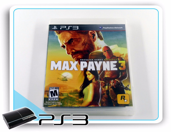 Ps3 Max Payne 3 Playstation 3 Original