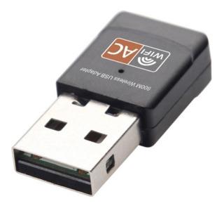 Adaptador Usb Red Wifi Dual Band Ac 5ghz 2.4ghz Tarjeta