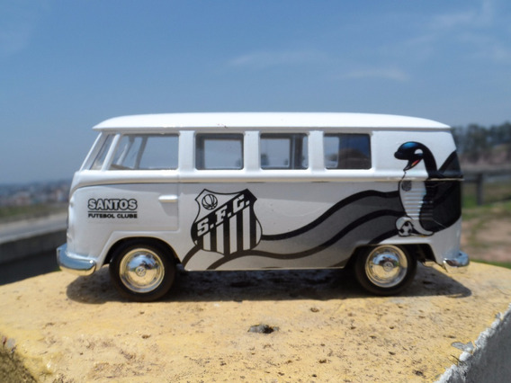 Miniatura Kombi Do Santos