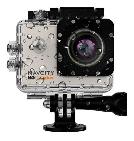 Câmera Esportiva Navcity Ng100plus Com Acessórios