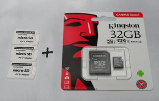 Adaptador Memoria Micro Sd Ps Vita Mas Memoria 32 G