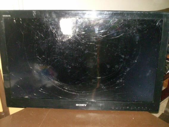 Tv Sony Bravia 32 Repuestos (pantalla Partida)