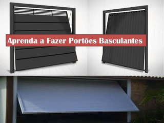 Projeto De Portões Basculantes.
