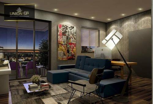 Apartamento Com 2 Dormitórios À Venda, 61 M² Por R$ 1.172.362,00 - Vila Olímpia - São Paulo/sp - Ap46601