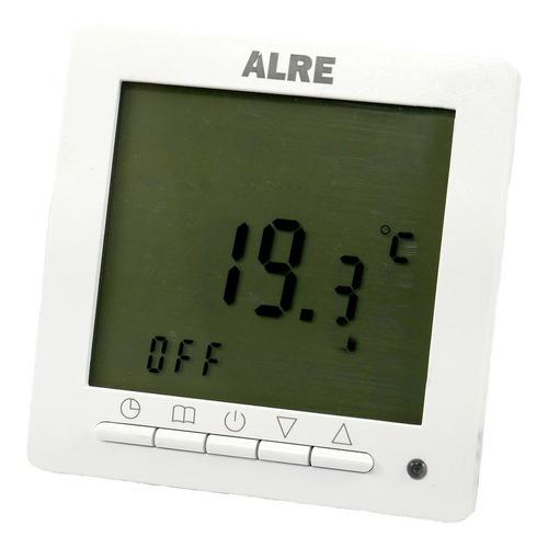 Termostato Programable P/ Piso Eléctrico Alre Ht09h3 +sensor
