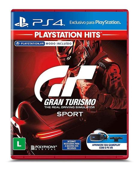 Jogo Gran Turismo Sport - Ps4 - Lacrado
