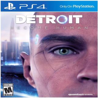 Videojuego Detroit Become Human Ps4