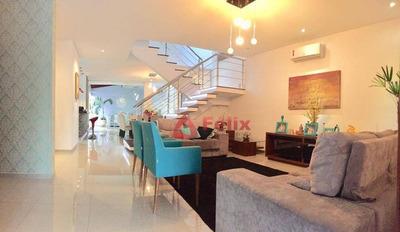 Sobrado Com 4 Dormitórios À Venda, 360 M² Por R$ 1.380.000 - Condomínio Campos Do Conde I - Tremembé/sp - So0702