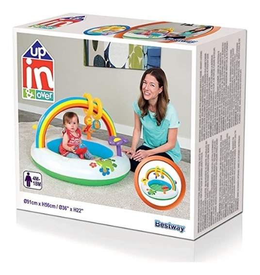 Gimnasio Para Bebes Inflable Baby Gym