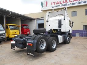 Scania P 340 2006 6x2 Único Dono Itália Caminhões