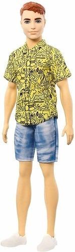 Imagem 1 de 6 de Boneco Ken Barbie Fashionista 139 Cabelo Vermelho 2020