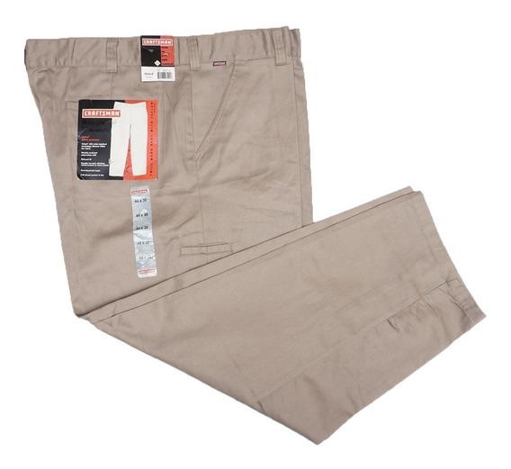 Pantalon De Trabajo Craftsman 44 X 30 Con Teflon Relaxed