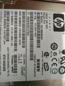 Hd Hp Sas 146gb 10k Servidor Rede Internet Hard Disk