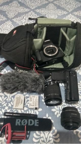 Canon T5i + Acessórios