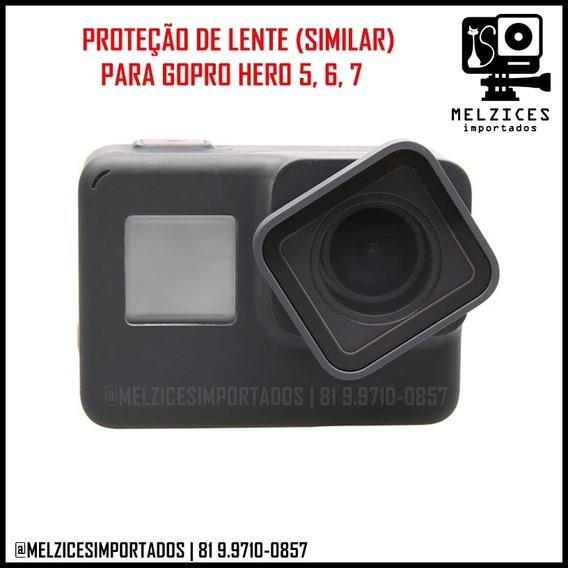 Proteção De Lente Gopro Hero 5, 6, 7 Black E 2018
