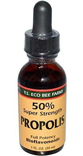 Propóleo De Abeja O Jalea Súper Fuerte, Ys Bee Farms, 1 On