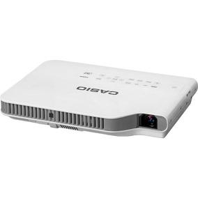 Mini Projetor Datashow Slim Hd Casio Xj-a247 2500 Lumens