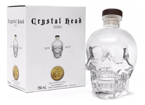 Vodka Crystal Head 750ml En Estuche Origen Canadá