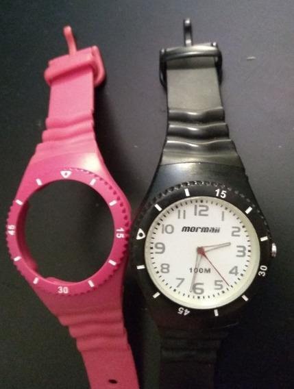 Relógio Mormaii Original Troca Pulseira