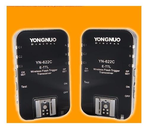 Yongnuo Disparador Remoto Ttl Yn-622 Para Canon - Envio Ya
