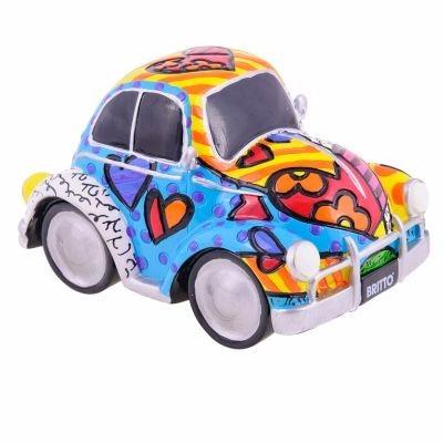 Romero Britto - Escultura - Car Fig. Beetle