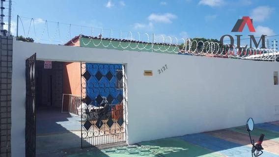 Casa Com 4 Dormitórios Para Alugar, 180 M² Por R$ 2.000/mês - Cidade Dos Funcionários - Fortaleza/ce - Ca0101