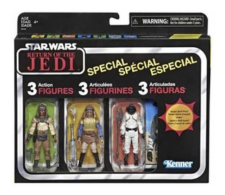 Star Wars Return Of Jedai Vintage Collection 3 Pack Retro